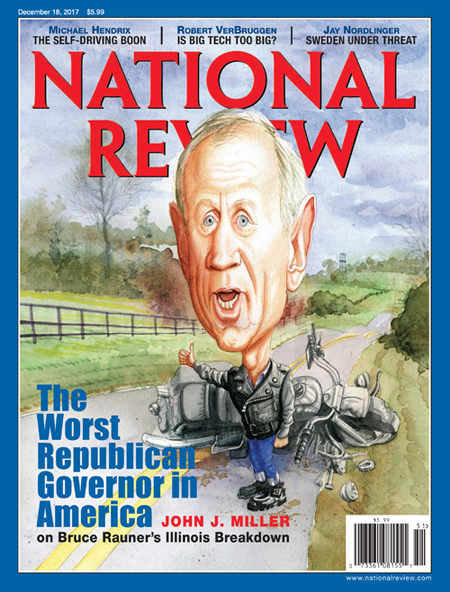 Bruce Rauner, Illinois Governor, Breaks Down   National Review