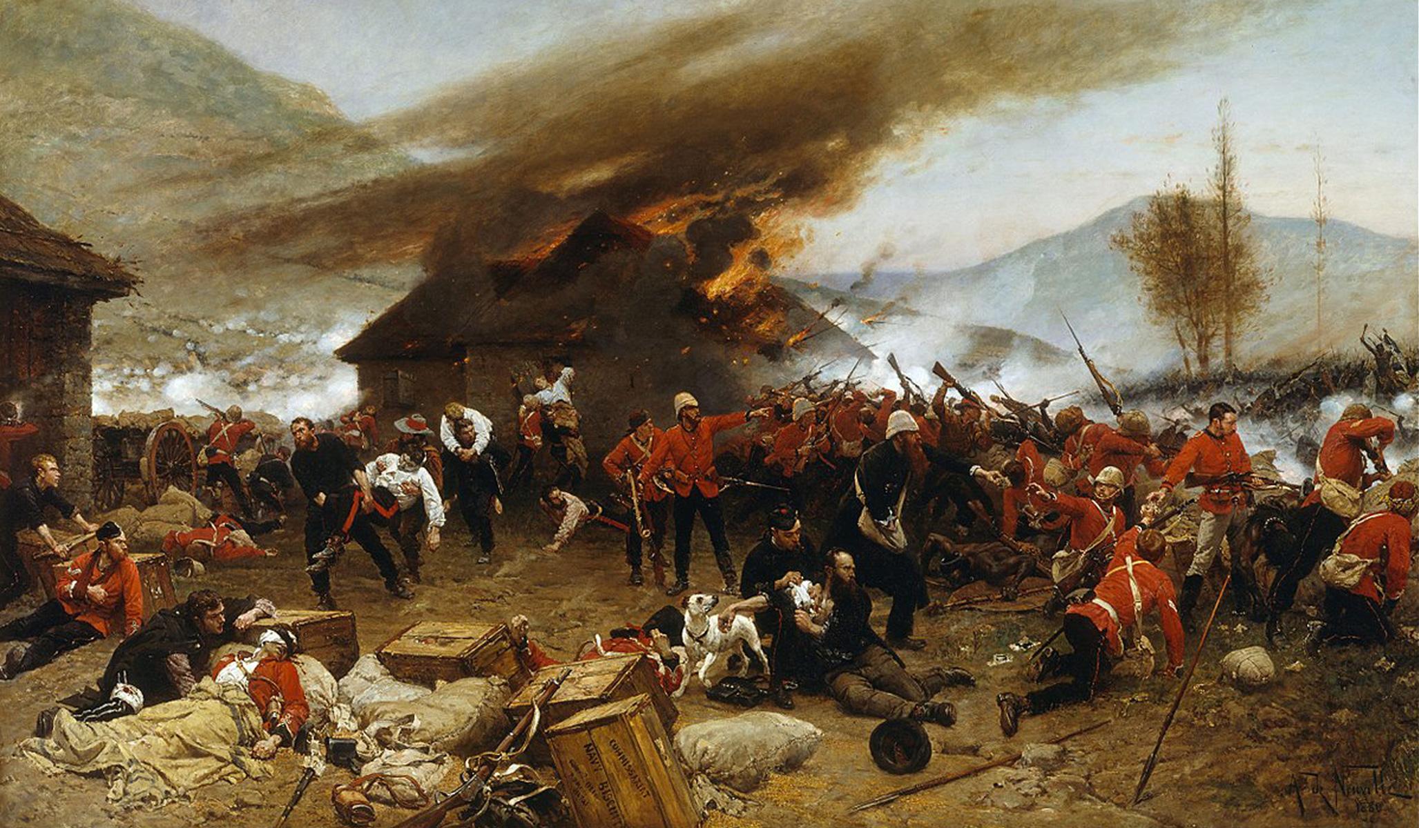 The Defence of Rorke's Drift, by Alphonse de Neuville