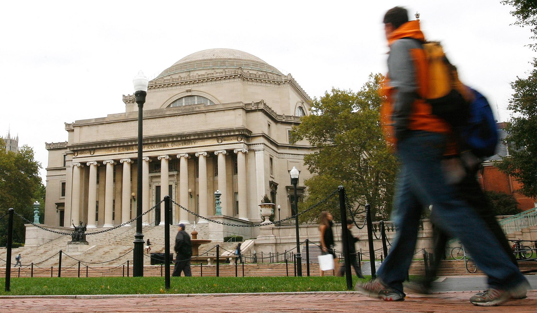 Universitas Columbia Merangkul Kebangkitan    Ulasan Nasional