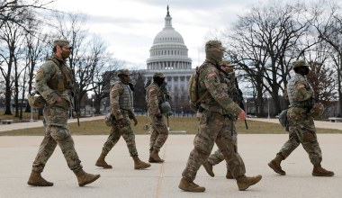 Capitol Police Request National Guard Troops for September 18 Rally