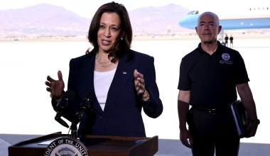 Harris Claims Footage of Border Patrol on Horseback Is Reminiscent of 'Times of Slavery'