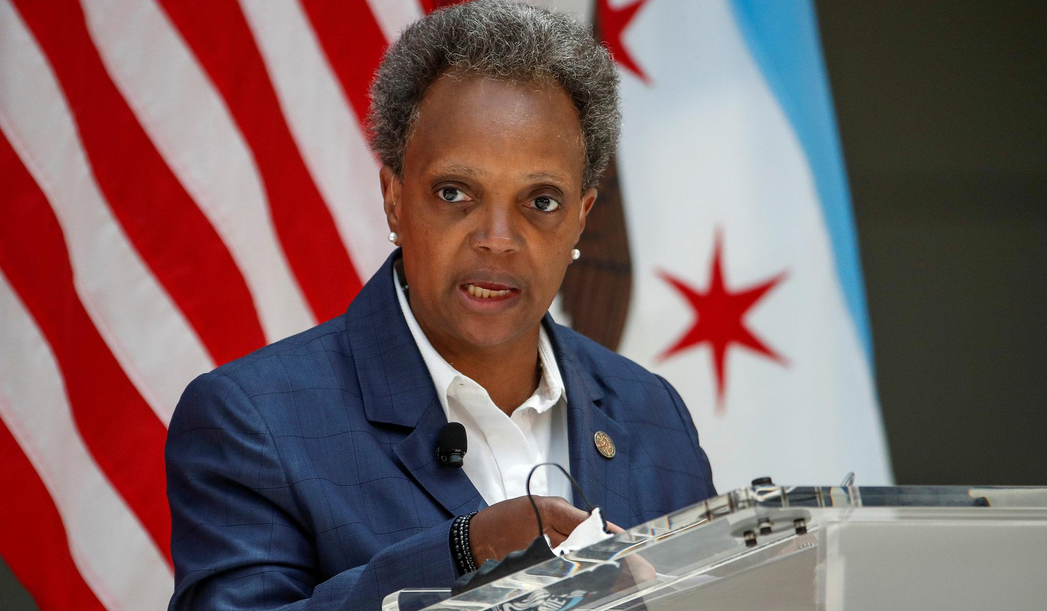 Chicago Mayor Seen Maskless at WNBA Game, Violating Mandates