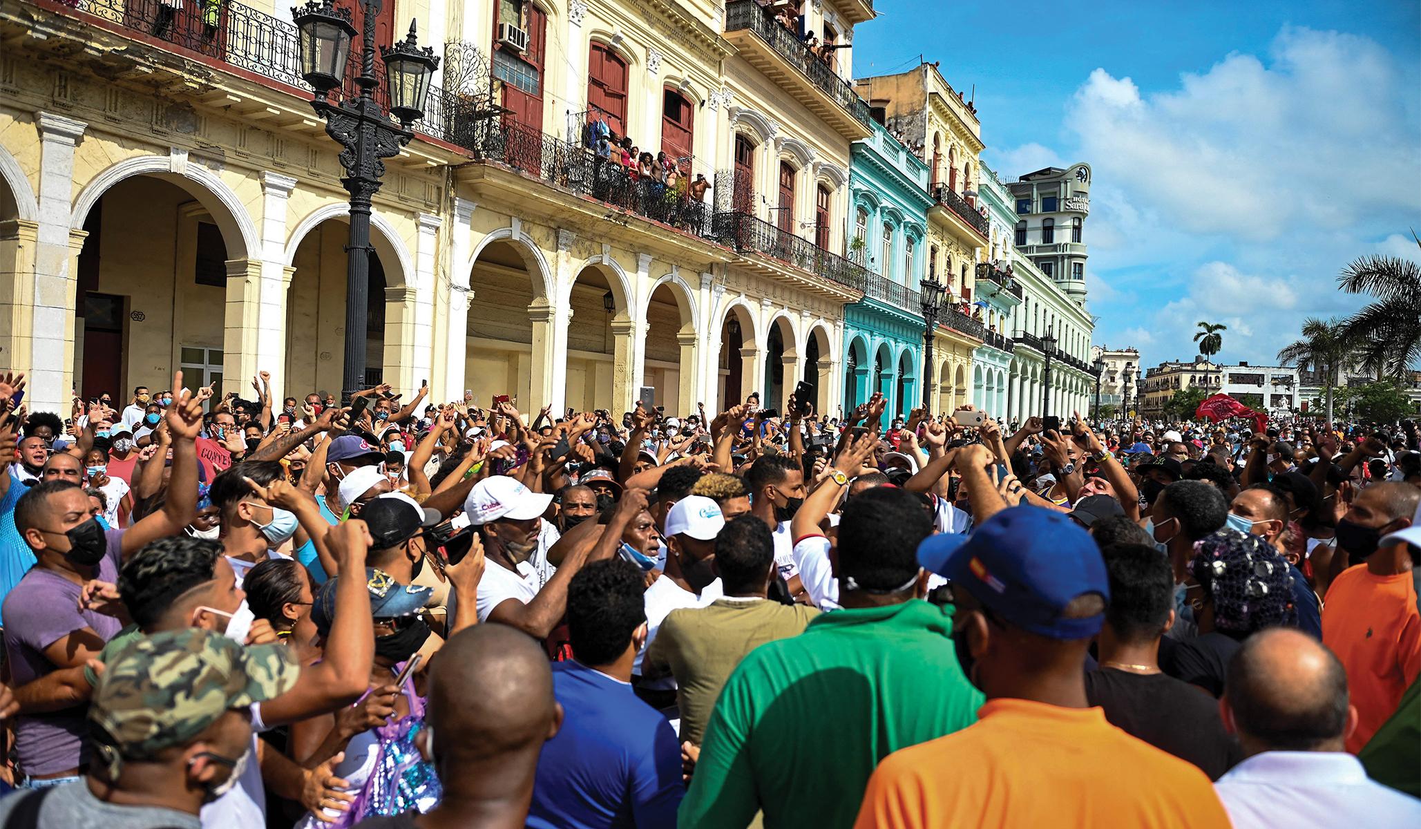 Cuba Quakes: Mass Protests Put the Regime on Notice