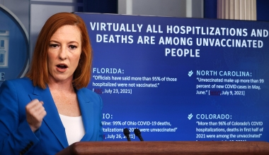 Psaki Flounders on Reasoning for Updated CDC Mask Guidance