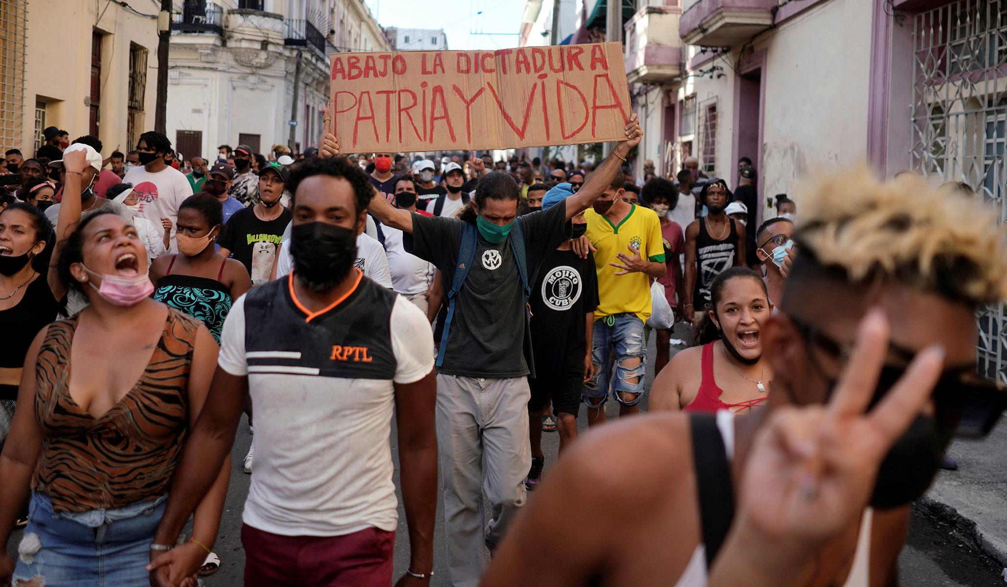 A Revolt in Cuba