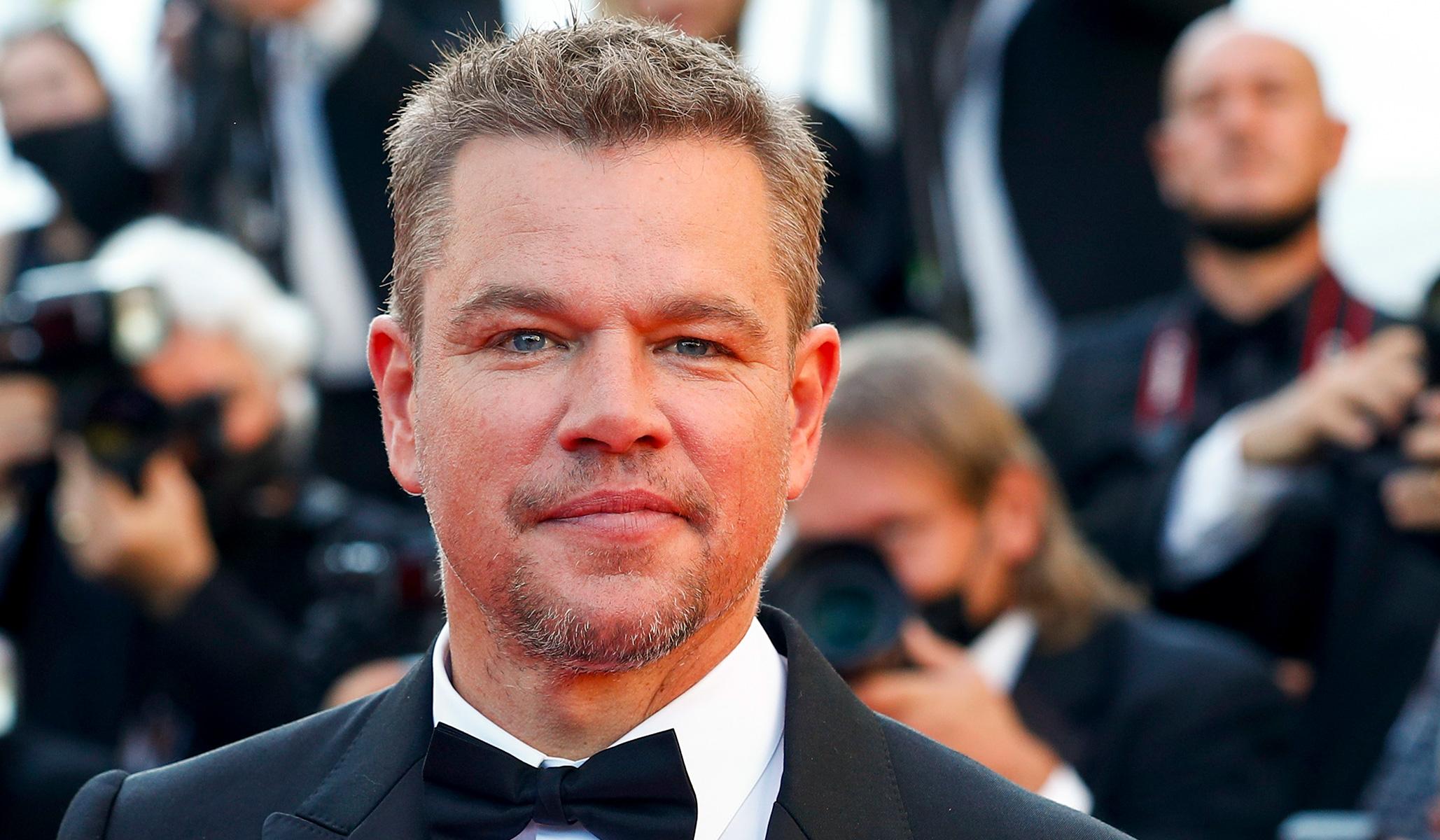 Matt Damon Makes for an Okay Okie