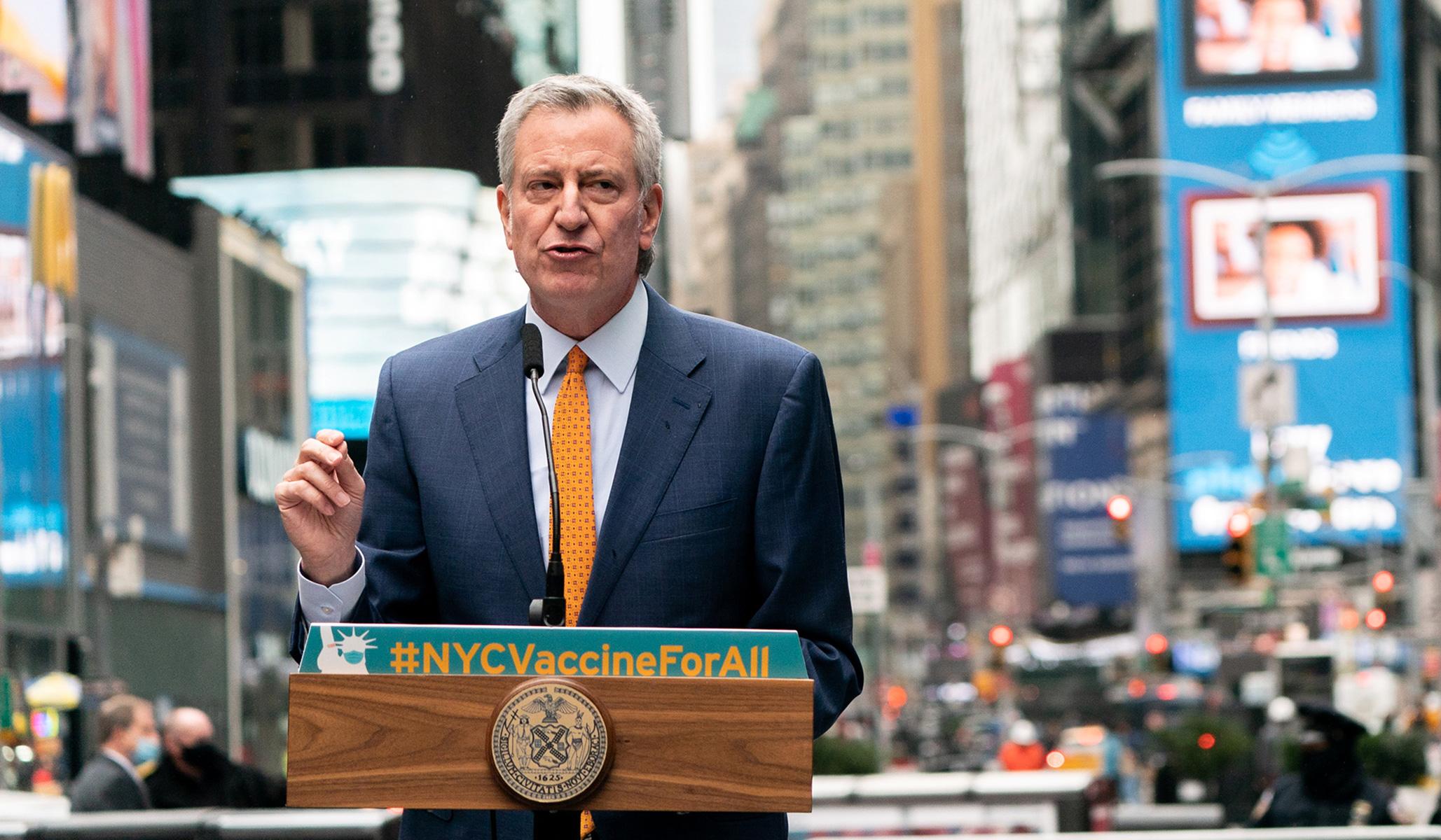 New York City to Require Proof of Vaccination for Indoor Activities