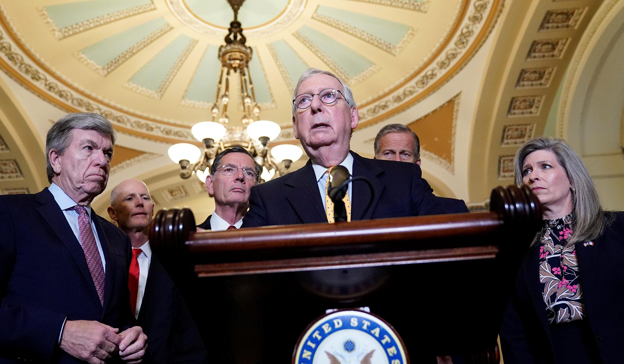 The Pathetic Republican Surrender