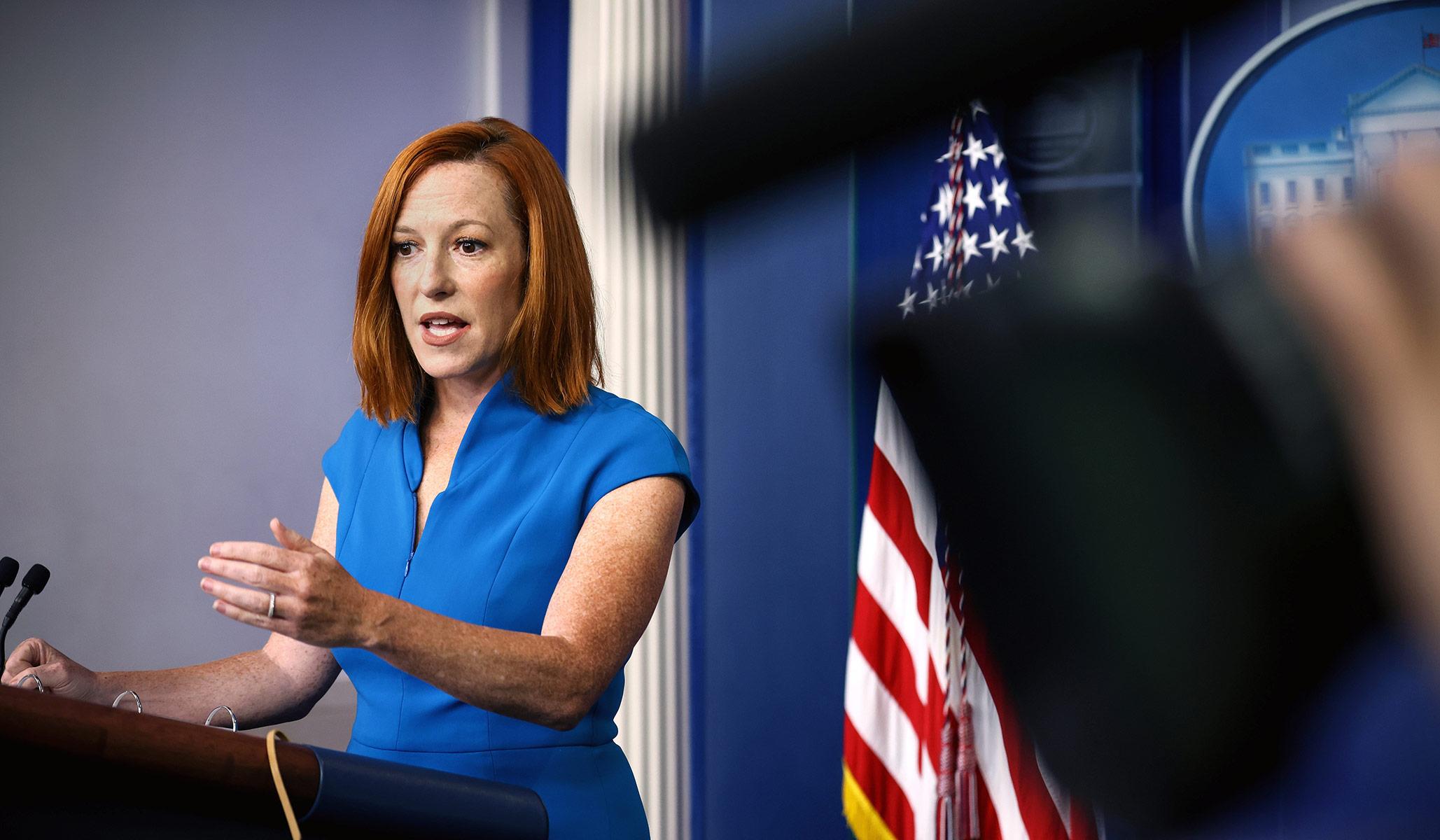 jen psaki white house press