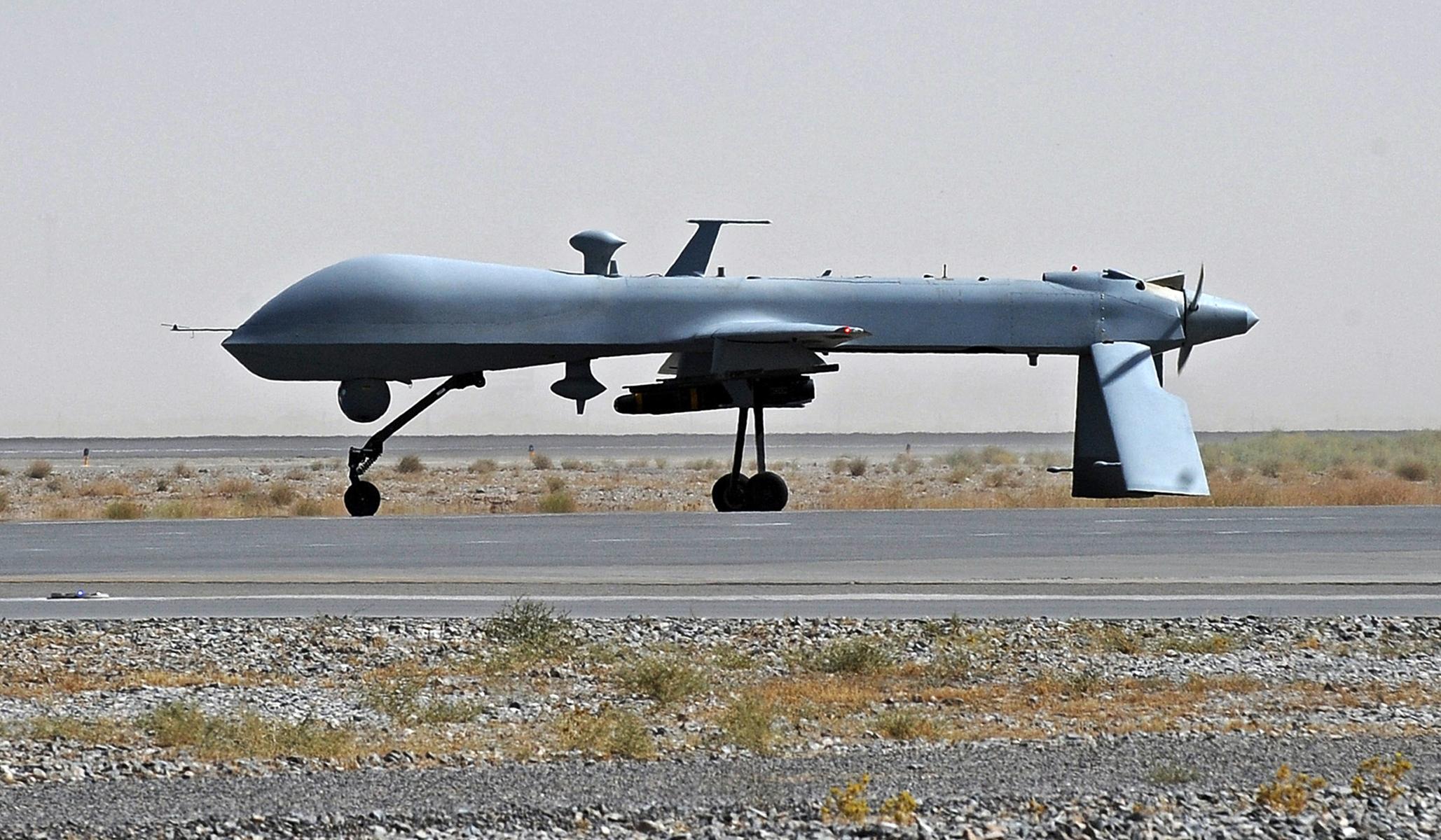 Pentagon: Two 'High Profile' ISIS-K Targets Killed in Retaliatory Drone Strike thumbnail