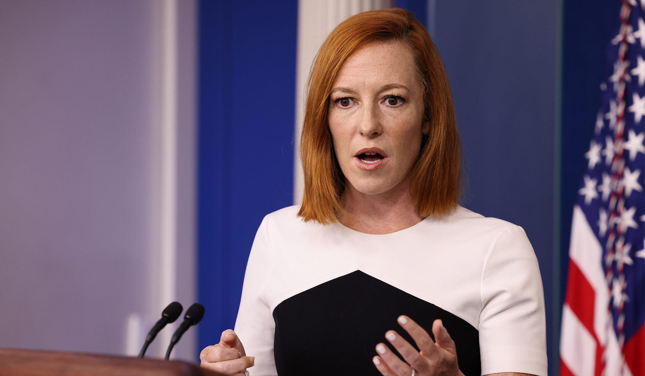 Chris Wallace Commends Jen Psaki: 'One of the Best Press Secretaries Ever'