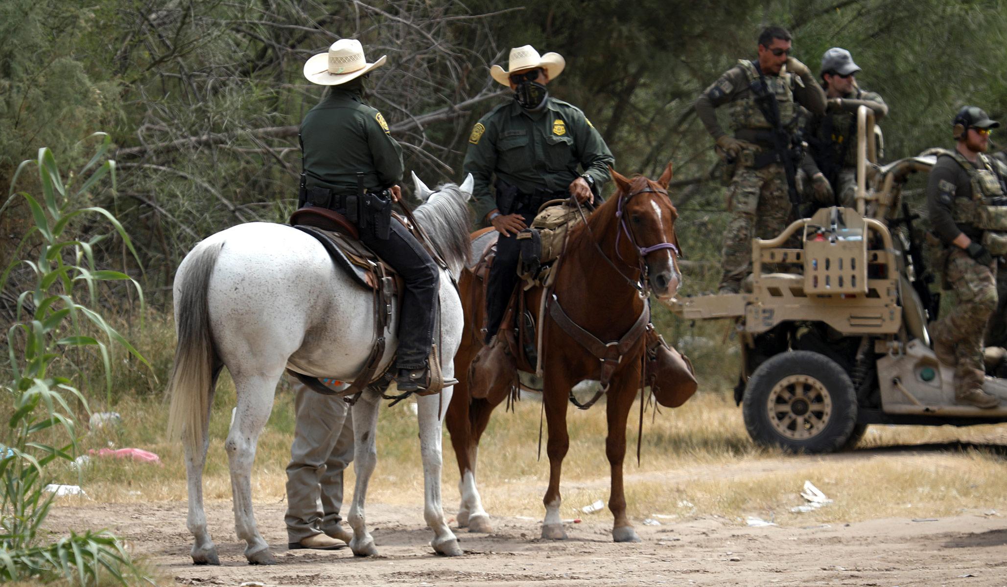 Psaki Announces Del Rio Border Patrol Will No Longer Use Horses in Response to False 'Whip' Narrative