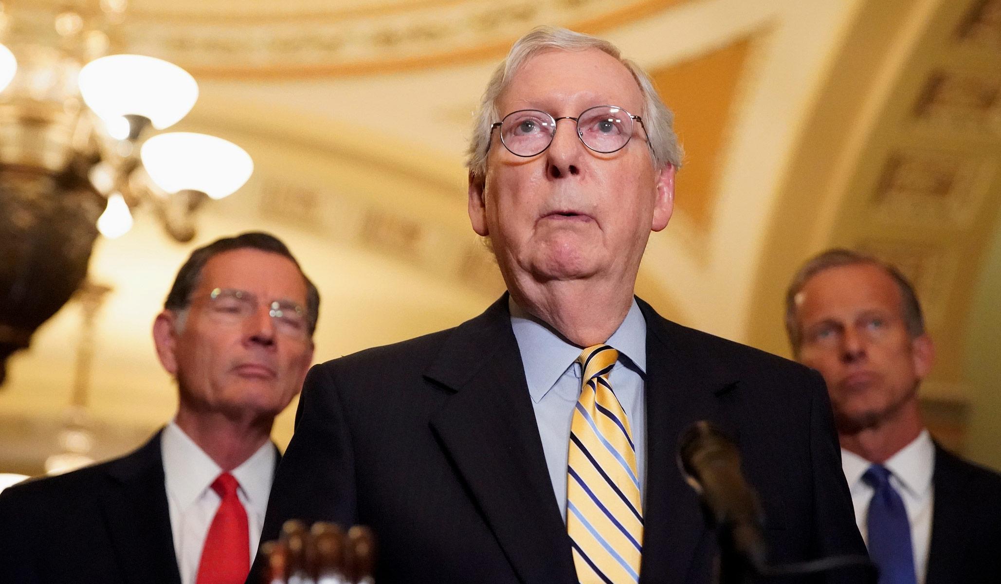 Senat Partai Republik Blokir Perdebatan Tentang RUU Pemilu Demokrat