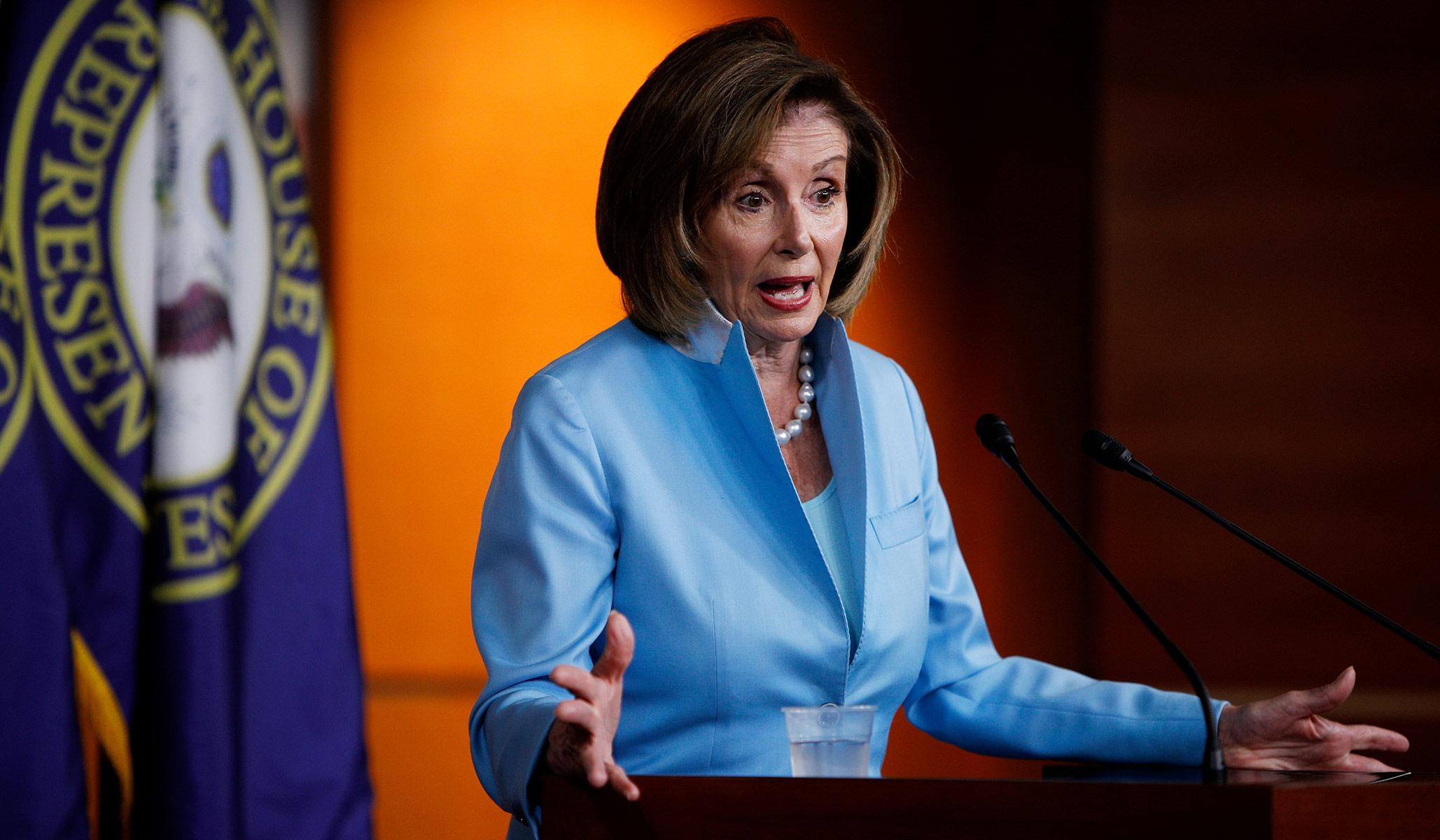 Pelosi: 'Seems Self-Evident' Reconciliation Bill Will Be Less Than $3.5 Trillion thumbnail