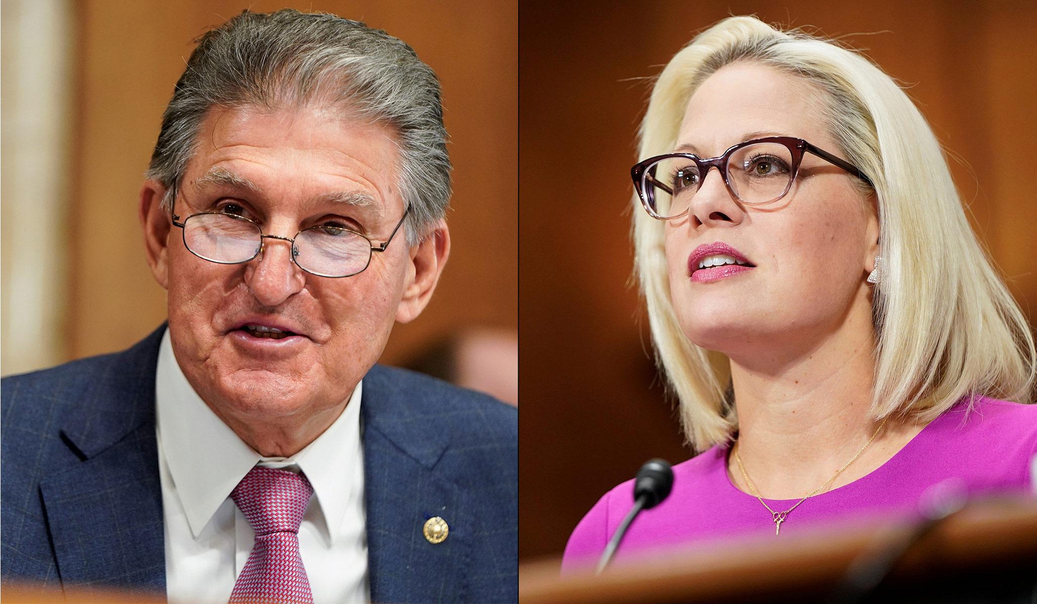 Kyrsten Sinema & Joe Manchin: Sistem Bukti Penahanan Senat Demokrat Bekerja Seperti yang Diinginkan