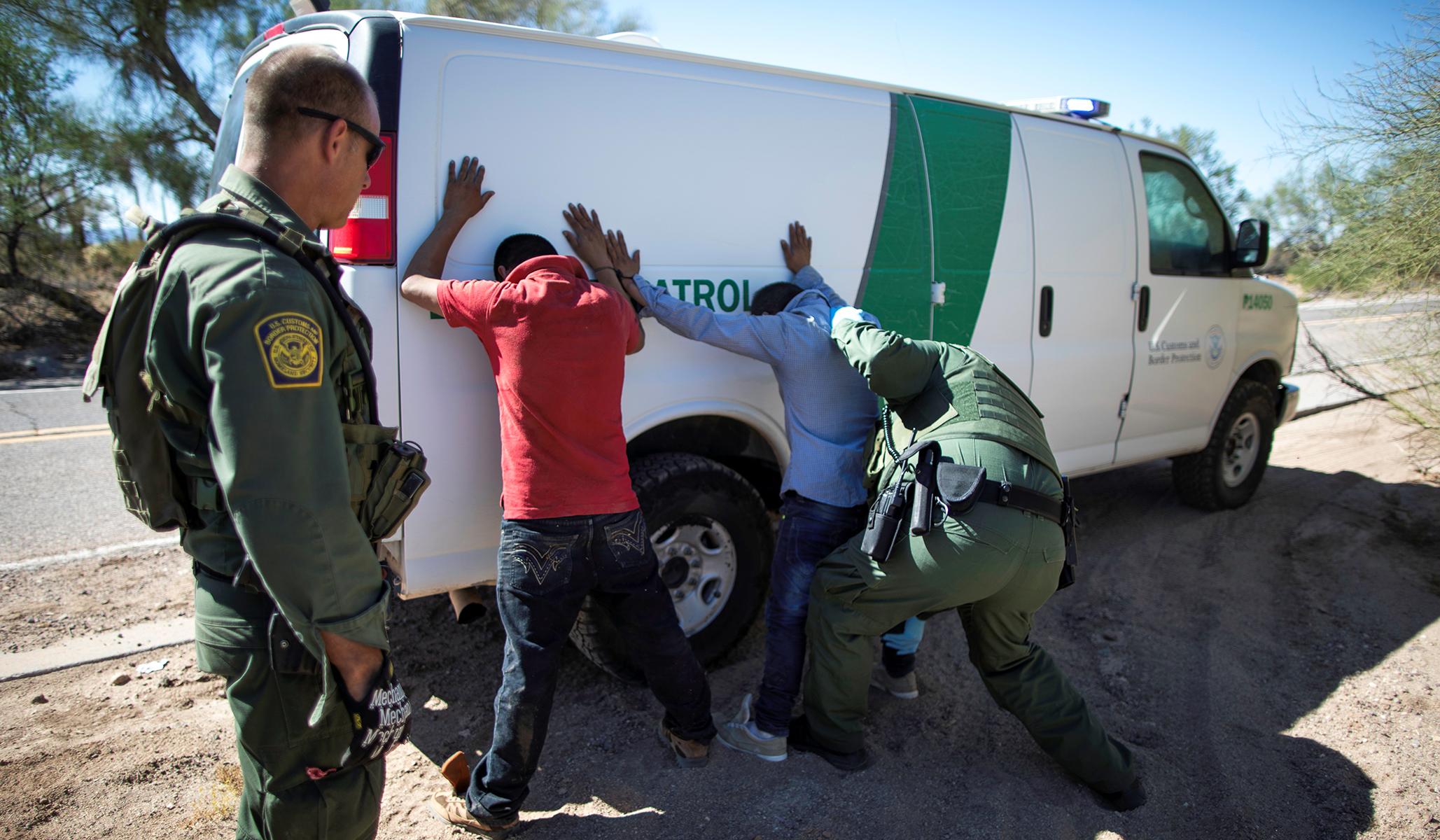 Border Arrests Hit 35-Year High