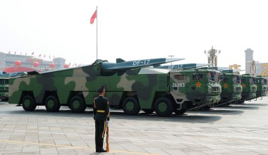 Milley Says China Hypersonic Missile Launch 'Very Close' to 'Sputnik Moment'
