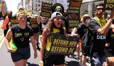 Climate Activist Org Cancels Appearance at DC Statehood Rally over Jewish Groups' Participation