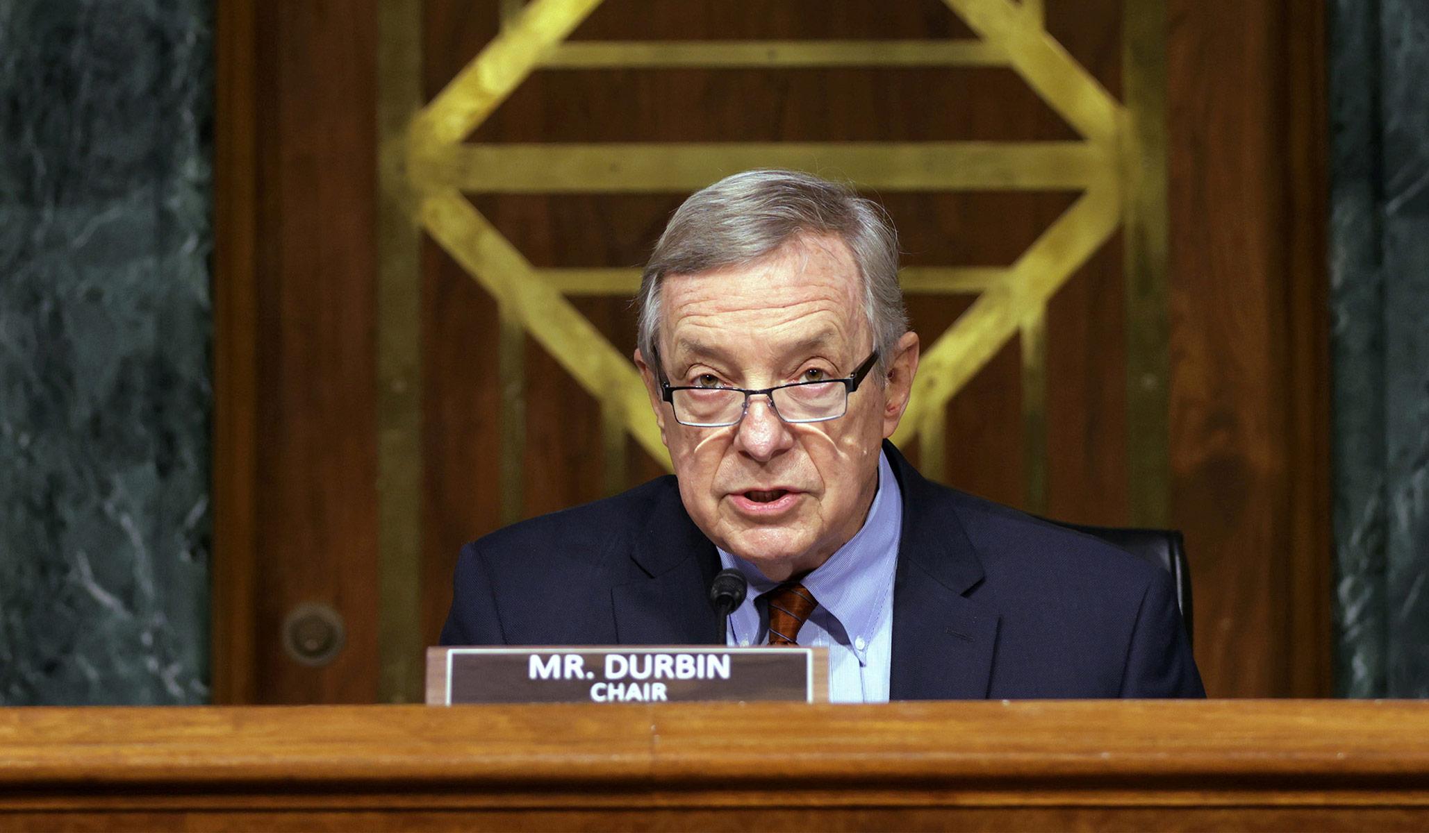 Senator Dick Durbin Likens Parents Swearing at School Board Members to January 6 Rioters