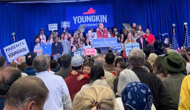 At Campaign Event, Glenn Youngkin Blasts Loudoun County Cover-Up, McAuliffe