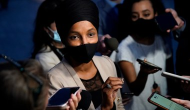 Ilhan Omar Says Senate Democrats Obstructing Effort to Eliminate Filibuster 'Are Killing our Democracy'