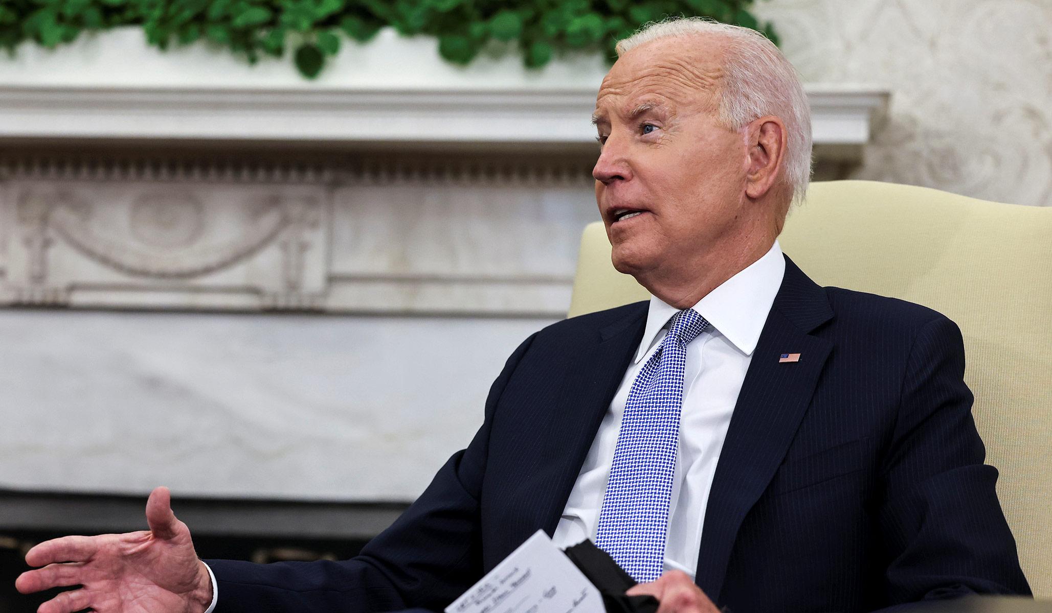 Joe Biden Bertanggung Jawab atas Rekor Gedung Putih