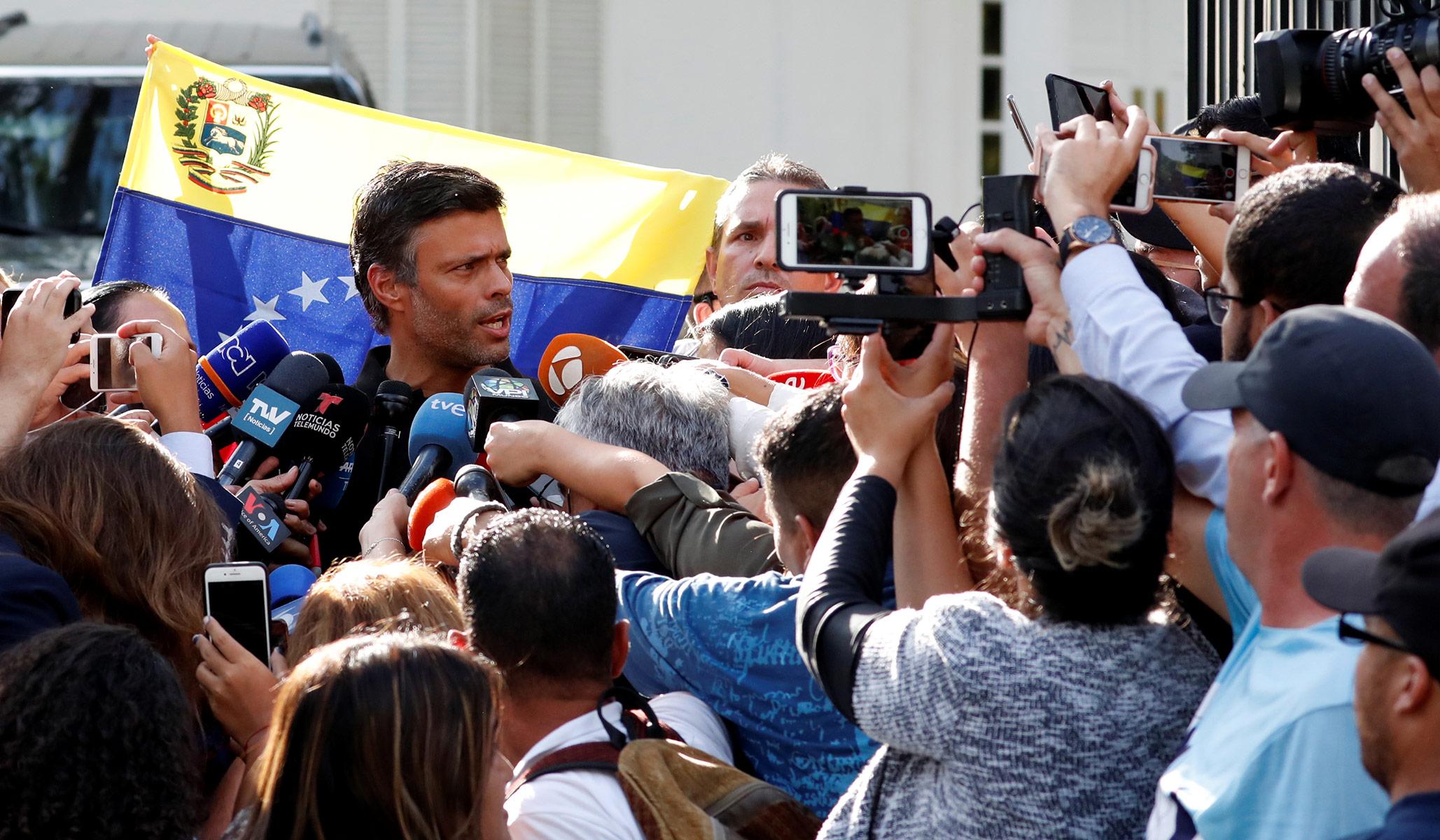 Leopoldo López, Boris Yeltsin & Lainnya