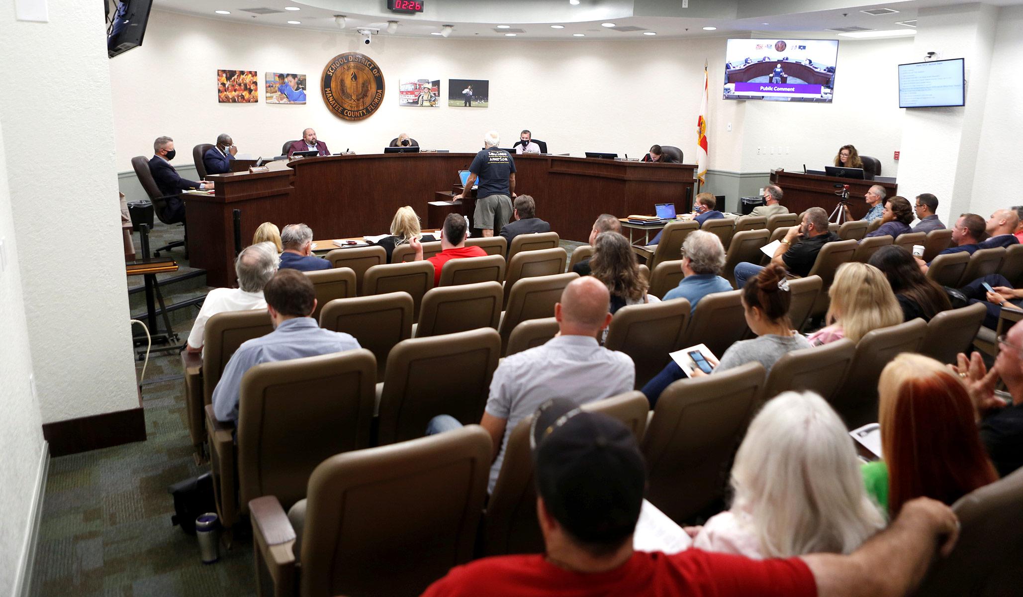 school board meeting bradenton florida