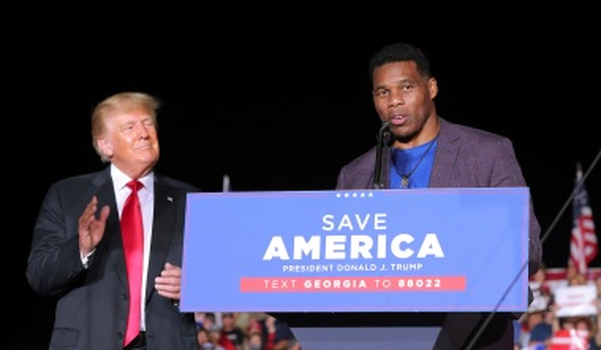 McConnell Endorses Trump Ally Herschel Walker after Months of Establishment Skepticism