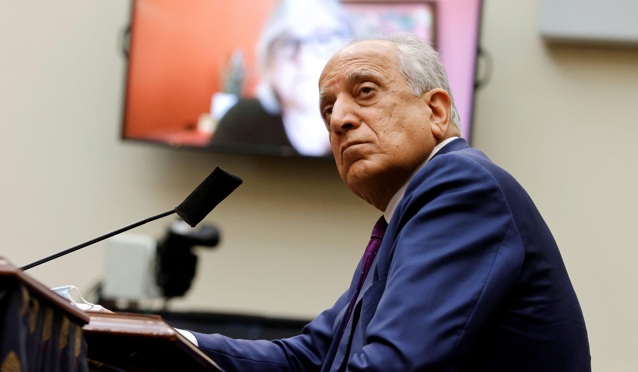 U.S. Envoy to Afghanistan Steps Down